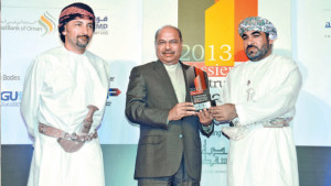 Ali-receives-Special-Award-in-2013-for-Leadership-People-Development-Muscat